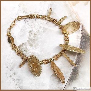 BOGO💫⚱️Glittering Gold Charms Wrist Bling⚱️